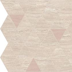 Motif Extra | Calacattabeige Triangle Rose Tess. | Piastrelle ceramica | Marca Corona
