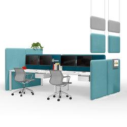 Winea Sonic | On-desk panel | Schermi divisori | WINI Büromöbel