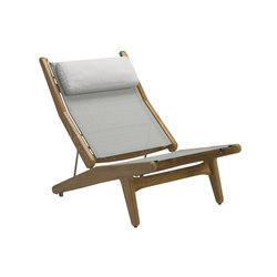 Bay Reclining Chair | Armchairs | Gloster Furniture GmbH