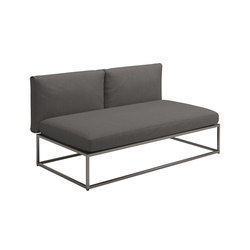 Cloud Centre Unit 75x150cm | Sillones de jardín | Gloster Furniture GmbH