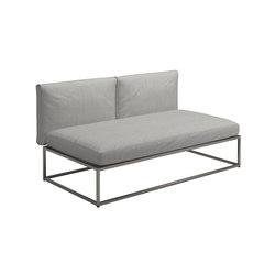 Cloud Centre Unit 75x150cm | Armchairs | Gloster Furniture GmbH