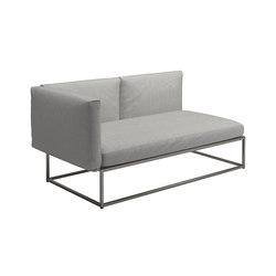 Cloud Left End Unit 75x150cm | Sofas | Gloster Furniture GmbH