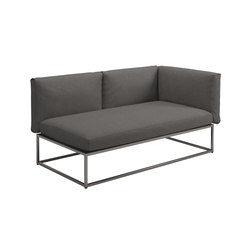 Cloud Righ End Unit 75x150cm | Canapés | Gloster Furniture GmbH