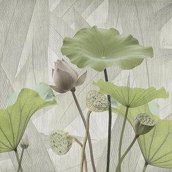 textile | white lotus | Wall art / Murals | N.O.W. Edizioni