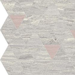 Motif Extra | Calacattasilver Triangle Rose Tess. | Piastrelle ceramica | Marca Corona