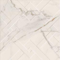 Motif | Calacatta Gold Trama Macro 20 | Ceramic tiles | Marca Corona