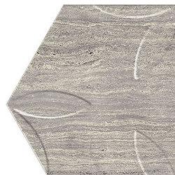 Motif | Travertino Silver Trama Macro Esa | Piastrelle ceramica | Marca Corona