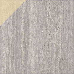 Motif | Travertino Silver D.Gold 20 | Baldosas de piedra natural | Marca Corona