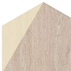 Motif | Travertino Beige D.Gold Esa | Piastrelle ceramica | Marca Corona