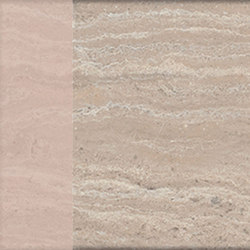 Motif | Travertino Beige Dec.Rose | Piastrelle ceramica | Marca Corona