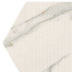 Motif | Calacatta Gold Trama Micro Esa | Ceramic tiles | Marca Corona