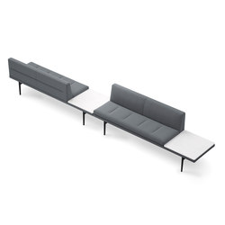 Parlez 70321|70322 | Waiting area benches | Keilhauer