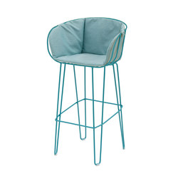 Olivo High Stool Upholstered | Bar stools | iSimar