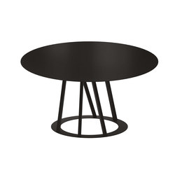 Big Irony Round Table | Dining tables | ZEUS