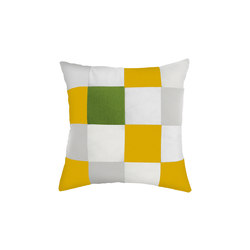 Cushions | Square Curcuma/White | Cushions | EGO Paris