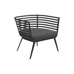 Vista Lounge Chair | Poltrone | Gloster Furniture GmbH