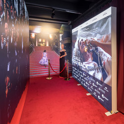 GO | Application Example Red Carpet | Privacy screen | Pixlip