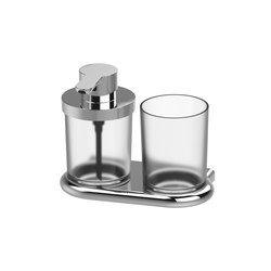Nia Soap dispenser and glass holder | Soap dispensers | Bodenschatz