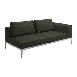 Grid Right End Unit | Sofas | Gloster Furniture GmbH