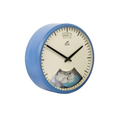 Weather Clock, Summer Blue Frame | Uhren | Bramwell Brown Clocks