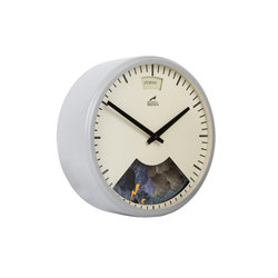 Weather Clock, Cloudy Grey Frame | Uhren | Bramwell Brown Clocks
