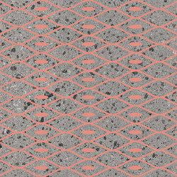 Maiolicata Rete Pink 15X120 | M15120REP | Keramik Fliesen | Ornamenta