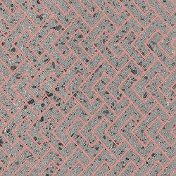 Maiolicata Incastro Pink 15X120 | M15120INP | Keramik Fliesen | Ornamenta