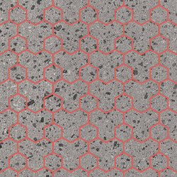 Maiolicata Alveolo Cherry 15X120 | M15120ALC | Ceramic tiles | Ornamenta
