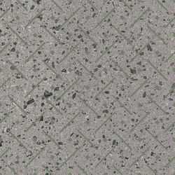 Maiolicata Punto Linea Pistachio 15X120 | M15120PLPI | Keramik Fliesen | Ornamenta