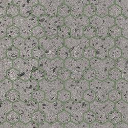 Maiolicata Alveolo Pistachio 15X120 | M15120ALPI | Ceramic tiles | Ornamenta