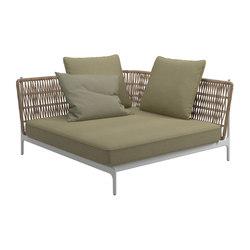 Grand Weave Large Corner Unit | Seating islands | Gloster Furniture GmbH
