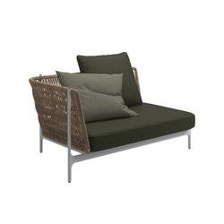 Grand Weave Left Corner Unit   Sofás   Gloster Furniture GmbH