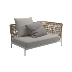 Grand Weave Right Corner Unit | Sofas | Gloster Furniture GmbH