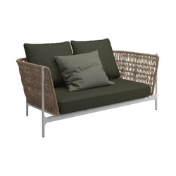 Grand Weave 2-Seater Sofa | Sofas | Gloster Furniture GmbH