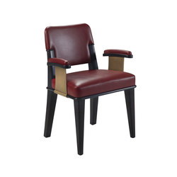 Vespertine Large chair with arms | Visitors chairs / Side chairs | Promemoria