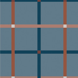Rugs Plaid Inked | OP120240RUPI | Ceramic tiles | Ornamenta