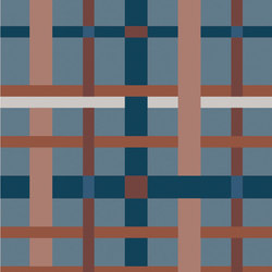 Rugs Warp Inked | OP120240RUWI | Baldosas de cerámica | Ornamenta