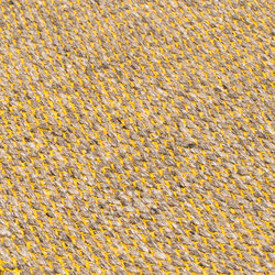 Nordic Drop nature & yellow | Rugs | kymo