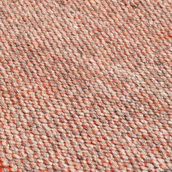 Nordic Drop nature & orange | Rugs | kymo