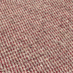 Nordic Drop nature & red | Rugs | kymo