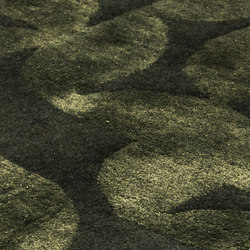 Obsidian emerald | Formatteppiche | kymo