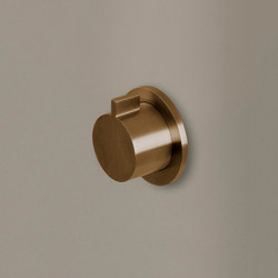 PB 01VALVE EXT | Wall mounted shut off valve | Shower controls | COCOON
