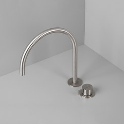 PB SET12 | Deck mounted basin mixer with swivel spout | Wash-basin taps | COCOON