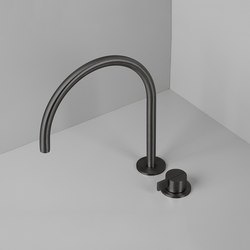 PB SET12 | Deck mounted basin mixer with swivel spout | Wash basin taps | COCOON
