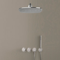 PB SET22 THERM | Complete Thermostatic Rain shower set | Shower taps / mixers | COCOON