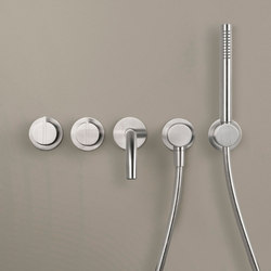 PB SET24 THERM | Complete Thermostatic bath set | Shower controls | COCOON