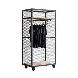 CLOTHES SHELF MESH WHEELS | Armarios | Noodles Noodles & Noodles