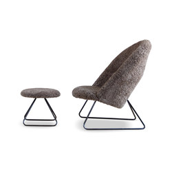 Dennie Chair with Footstool | Sillones | House of Finn Juhl - Onecollection