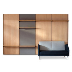 FJ Panel System | Wall storage systems | House of Finn Juhl - Onecollection