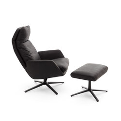 Cordia easy chair with a stoll | Armchairs | COR